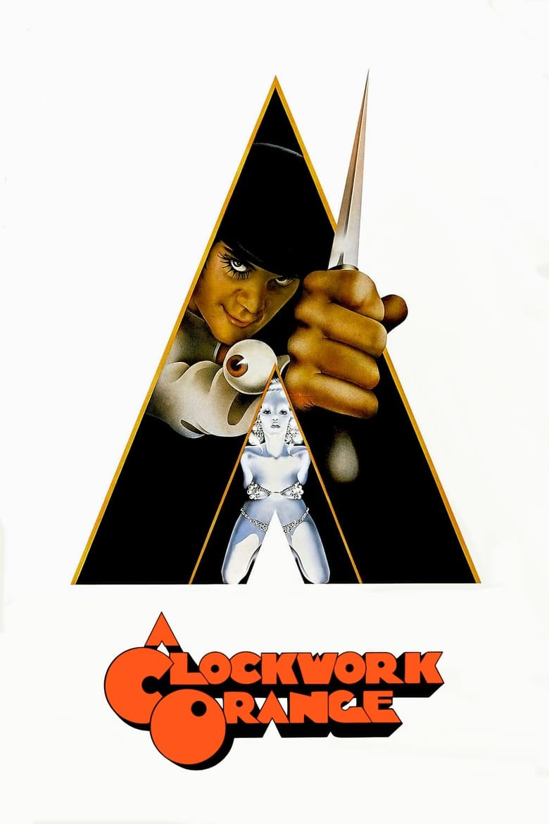 Theatrical poster for A Clockwork Orange