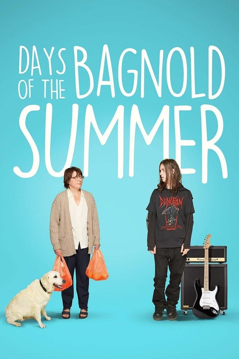 Theatrical poster for Days of the Bagnold Summer