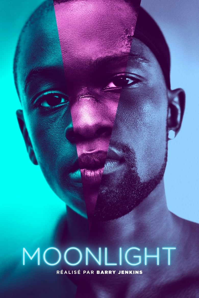 Theatrical poster for Moonlight