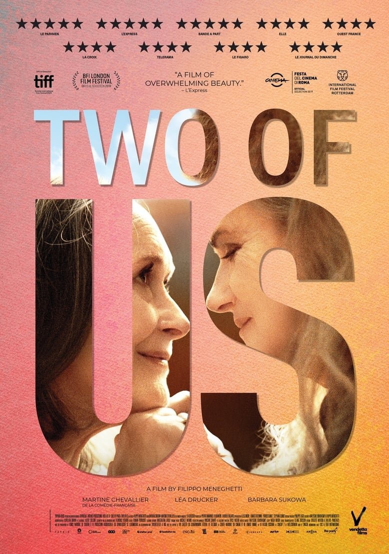 Theatrical poster for Two of Us