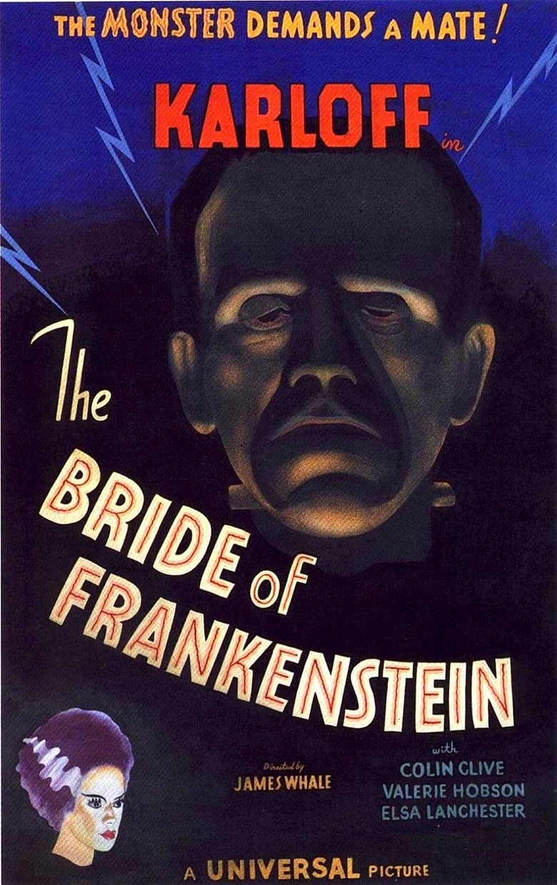 Theatrical poster for Bride Of Frankenstein (1935)