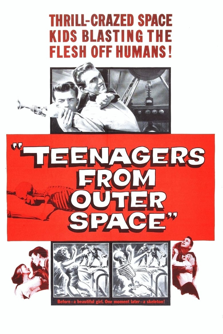 Theatrical poster for Teenagers from Outer Space