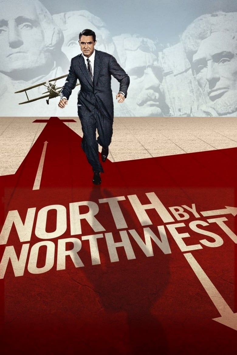 Theatrical poster for North by Northwest