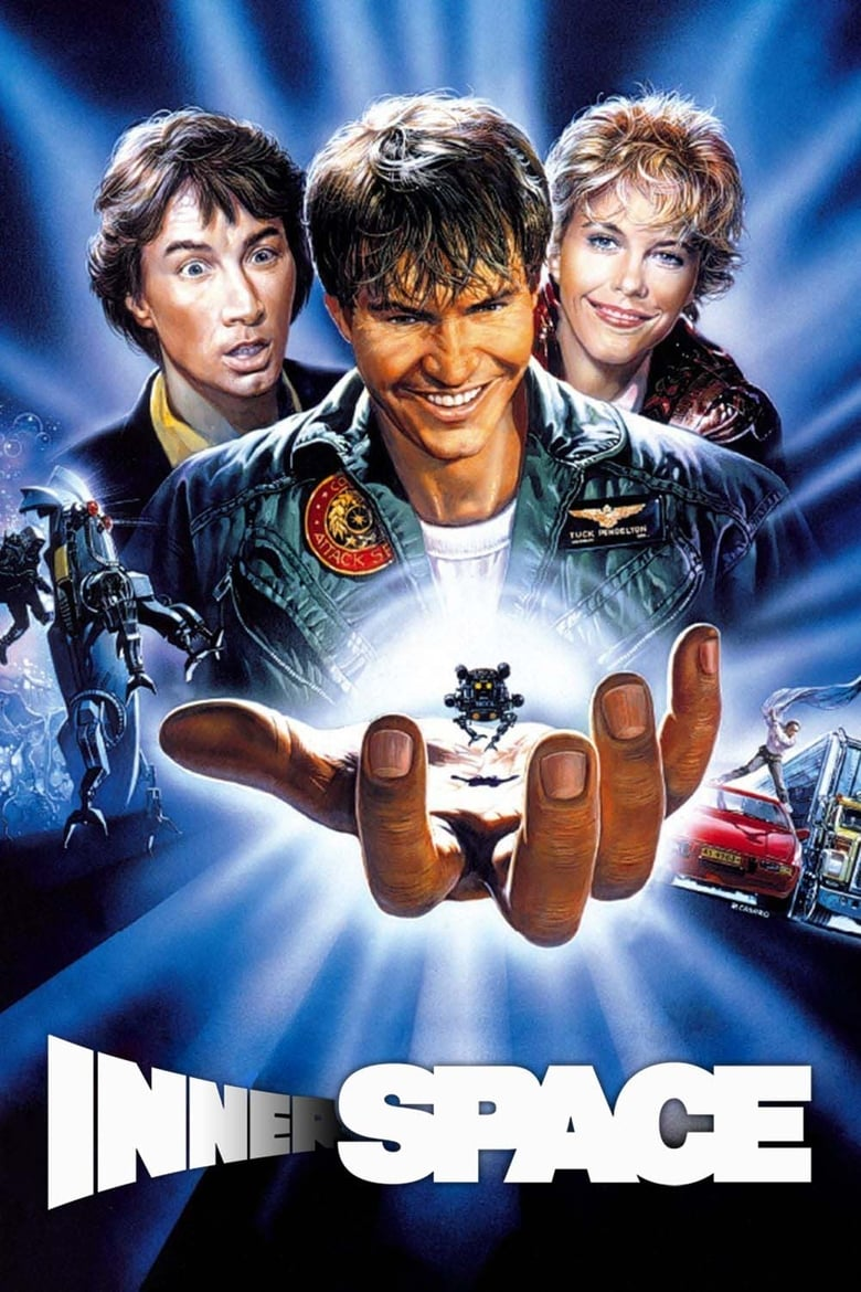 Theatrical poster for Innerspace