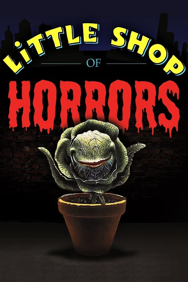 Theatrical poster for Little Shop of Horrors