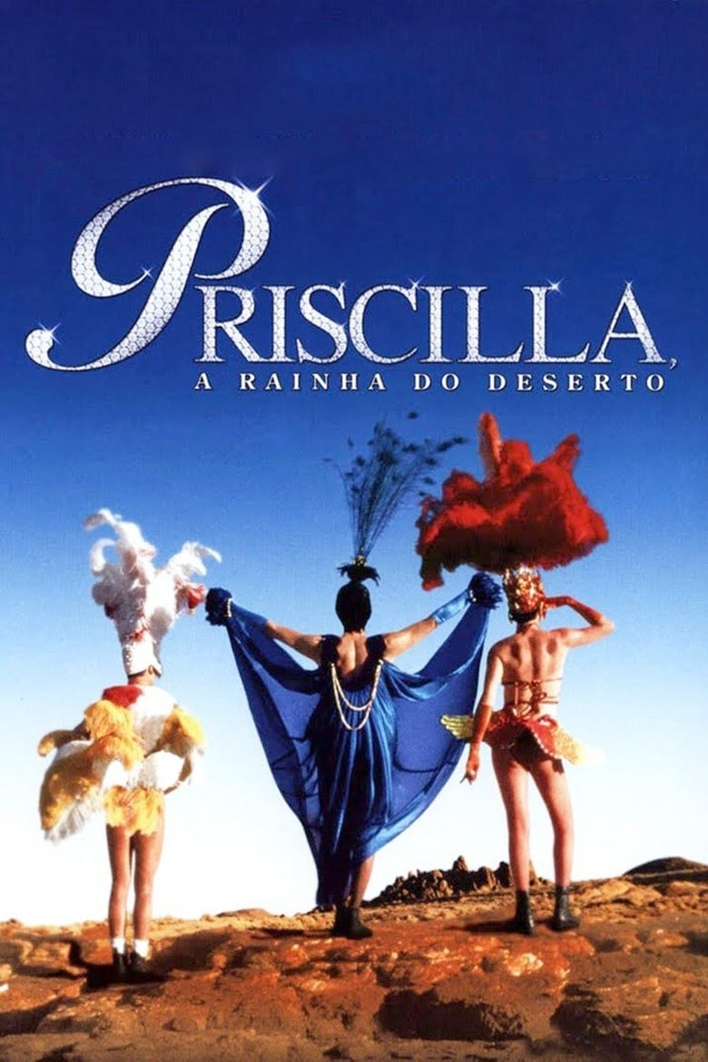 Theatrical poster for The Adventures of Priscilla, Queen of the Desert
