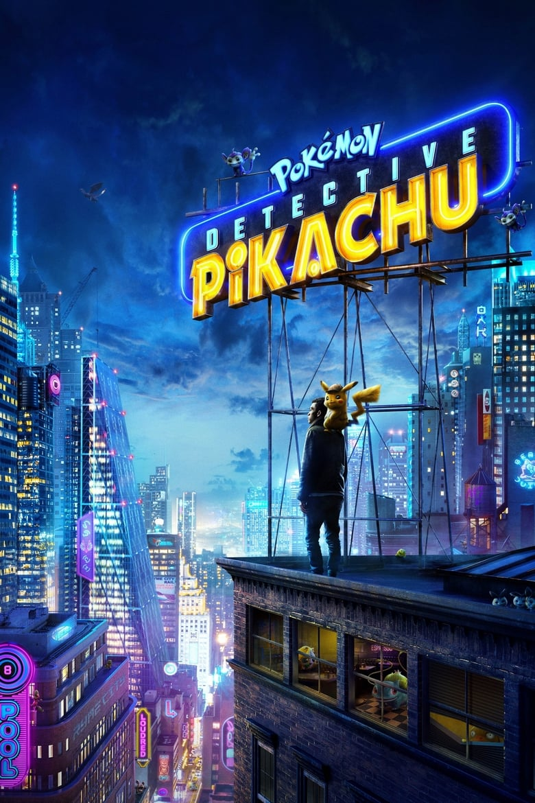 Theatrical poster for Pokémon Detective Pikachu
