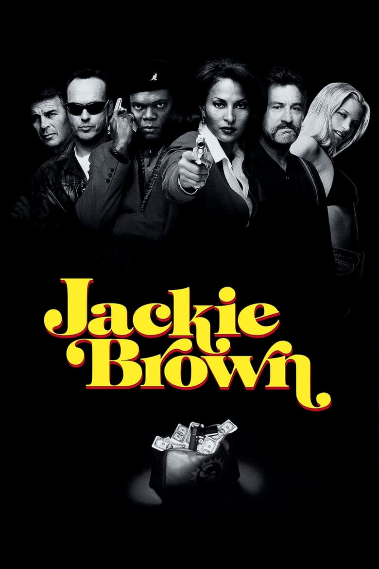 Theatrical poster for Jackie Brown