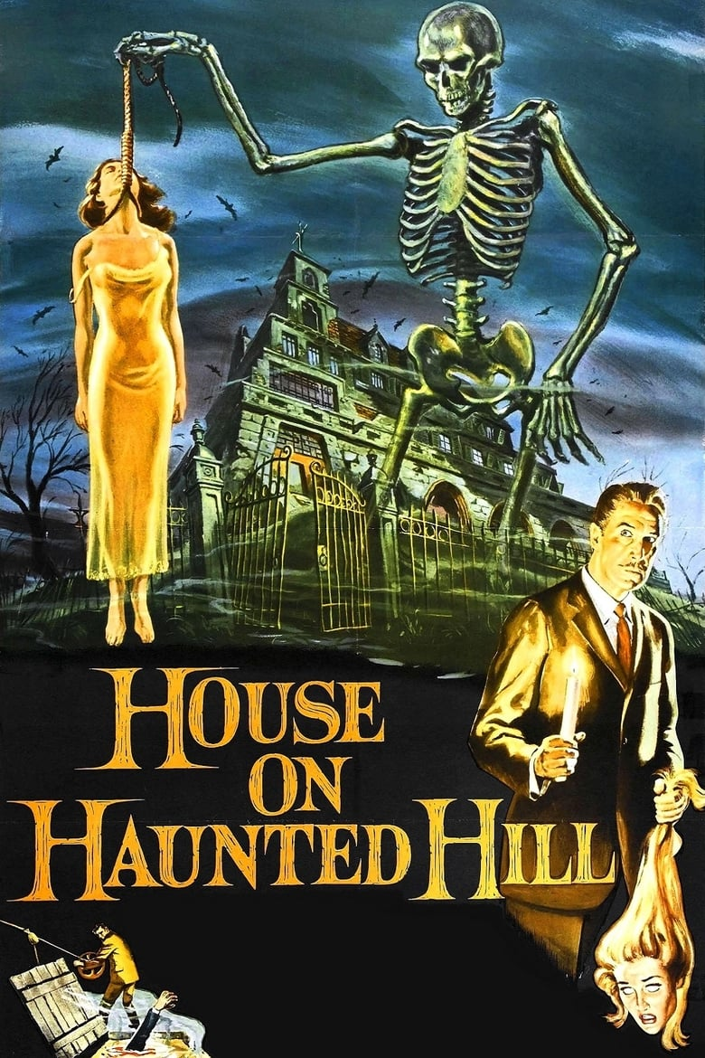 Theatrical poster for House on Haunted Hill (1959)