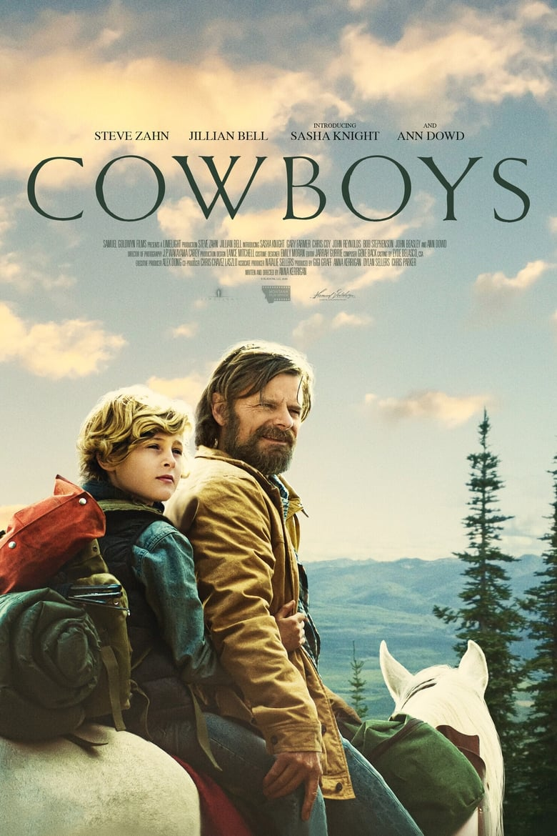 Theatrical poster for Cowboys