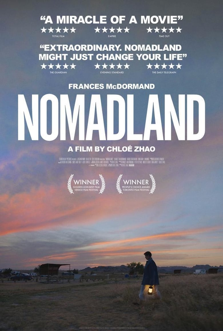 Theatrical poster for Nomadland
