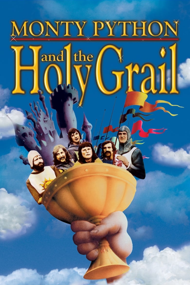 Theatrical poster for Monty Python and the Holy Grail
