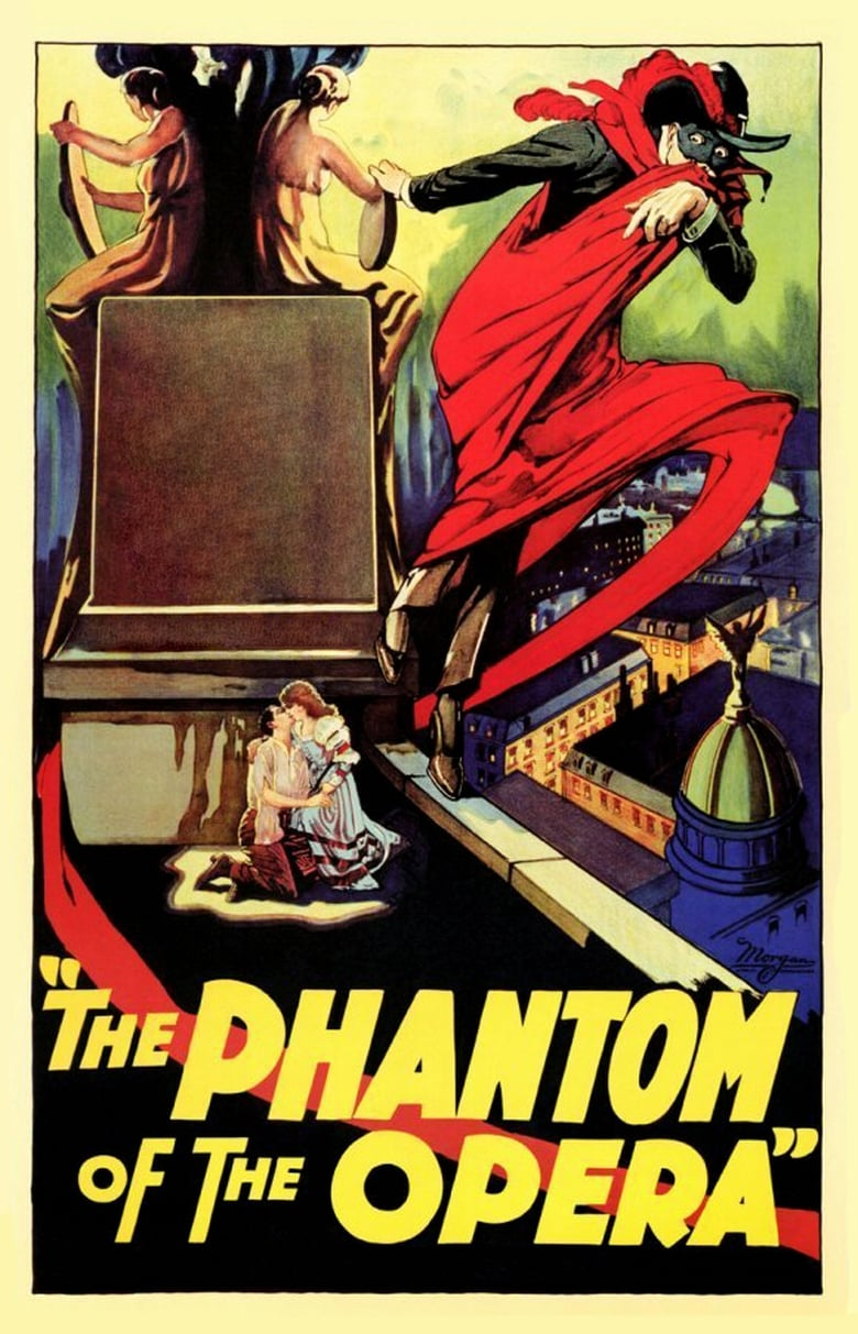 Theatrical poster for Phantom of the Opera (1925)