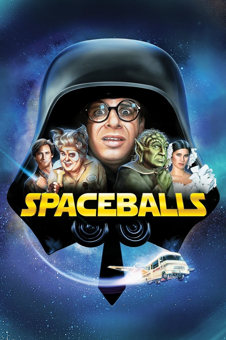 Theatrical poster for Spaceballs