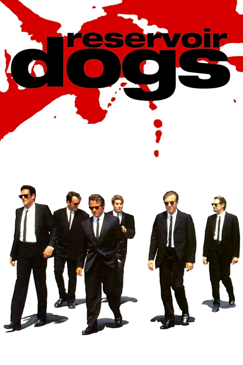 Theatrical poster for Reservoir Dogs