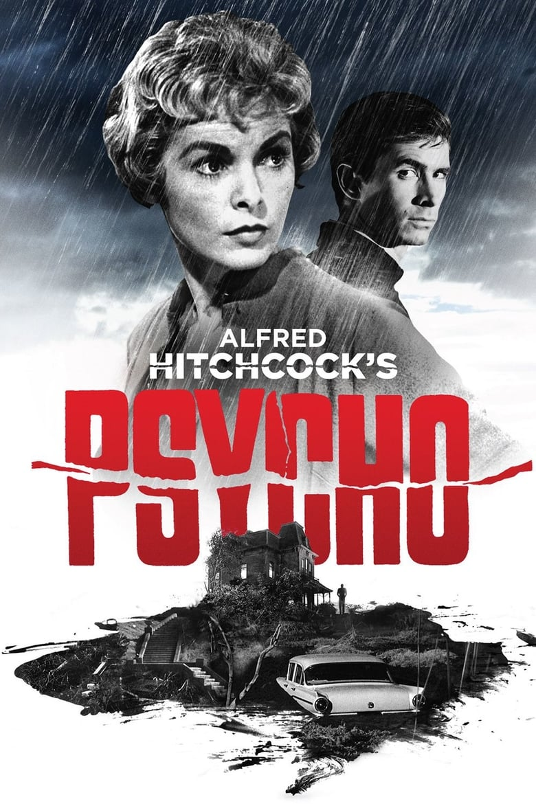 Theatrical poster for Psycho
