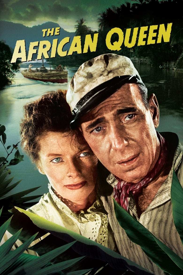 Theatrical poster for African Queen