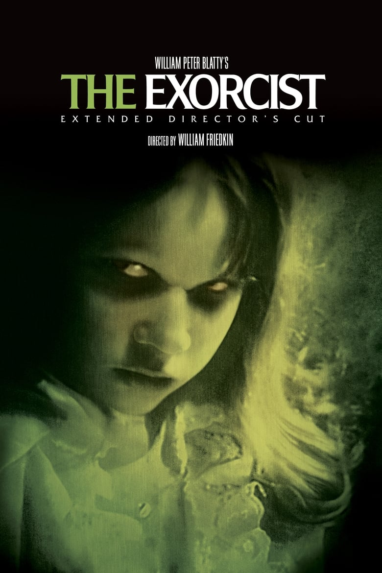 Theatrical poster for The Exorcist (2000 Extended Director's Cut)