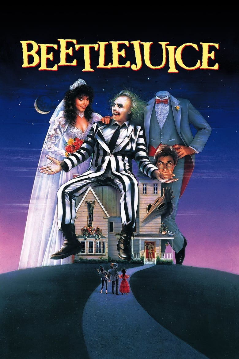 Theatrical poster for Beetlejuice