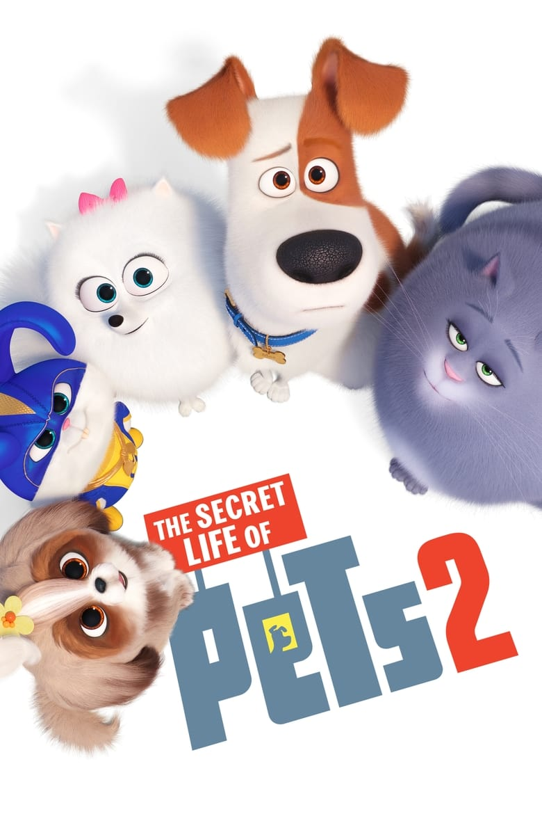 Theatrical poster for The Secret Life Of Pets 2