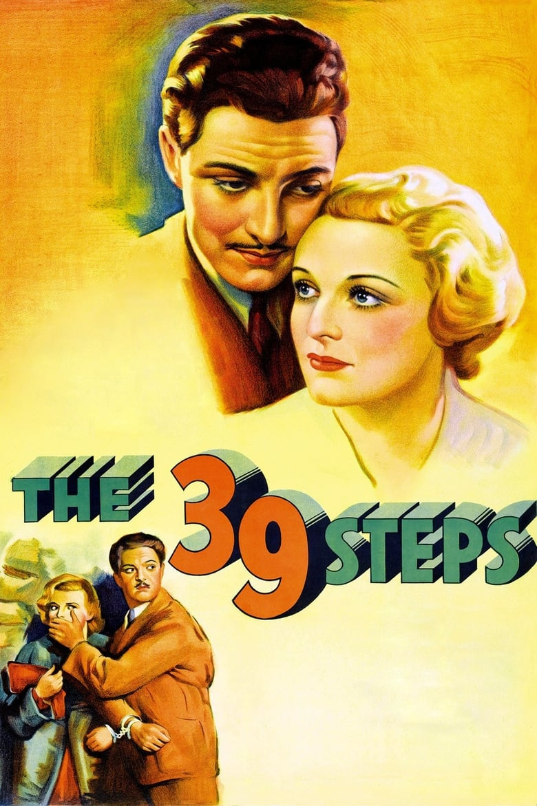 Theatrical poster for The 39 Steps
