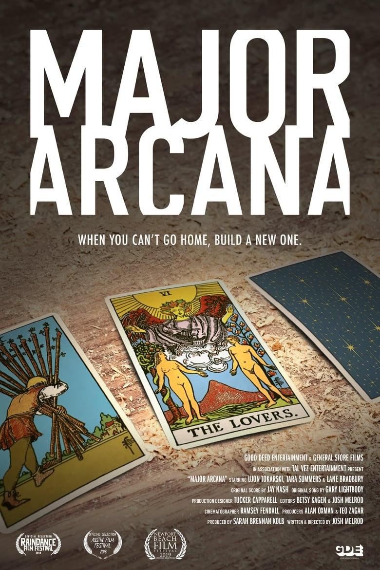 Theatrical poster for Major Arcana