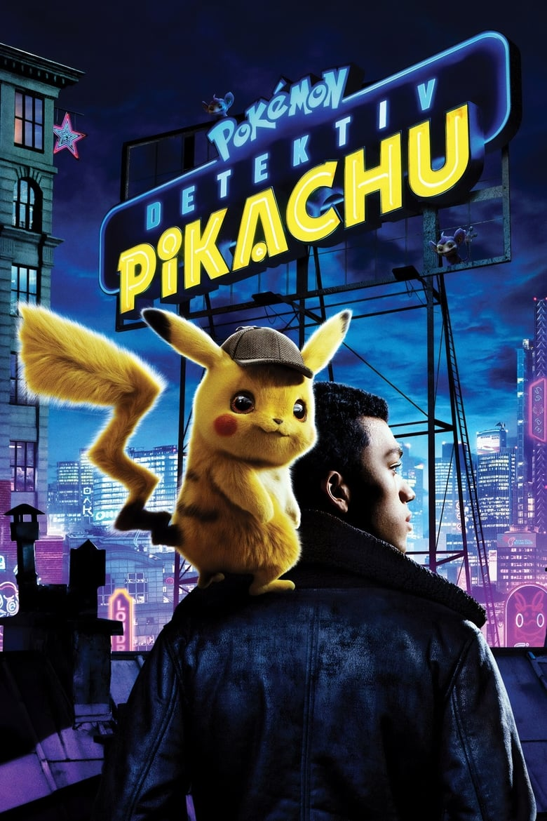 Image result for Detective Pikachu poster