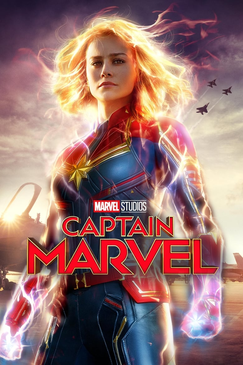 Theatrical poster for Captain Marvel