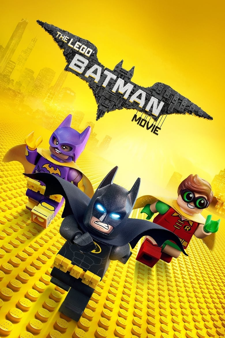 Theatrical poster for LEGO Batman Movie