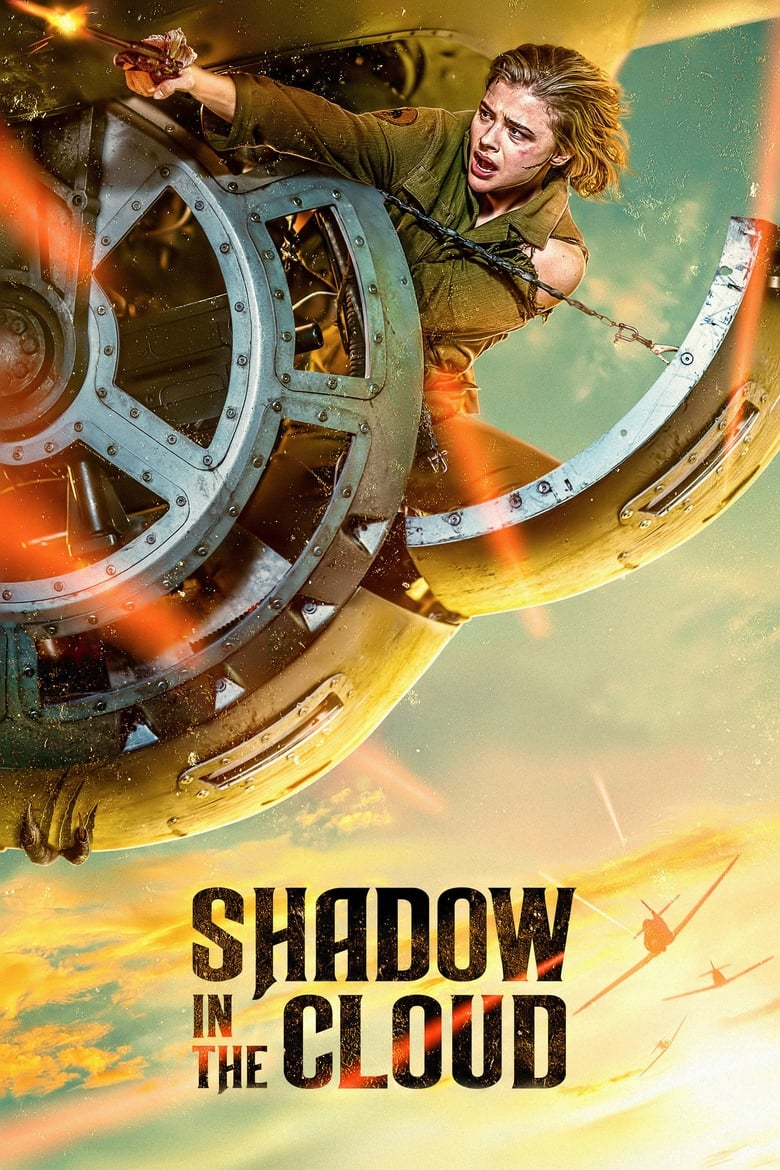 Theatrical poster for Shadow in the Cloud