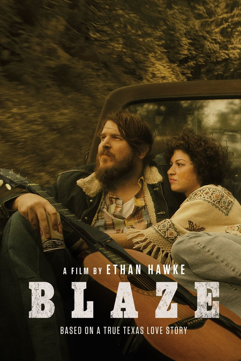 Theatrical poster for Blaze w/ Ethan Hawke-SOLD OUT