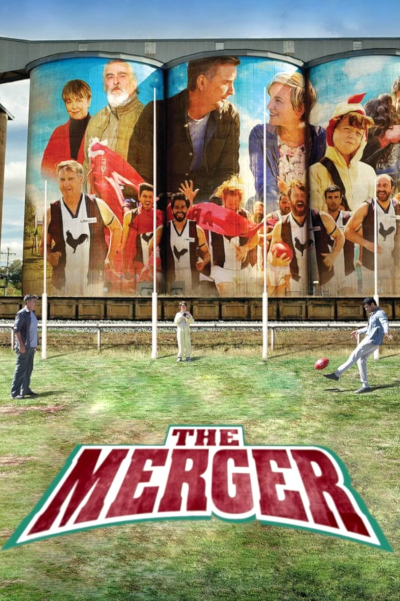 Theatrical poster for World Refugee Day Screening: The Merger