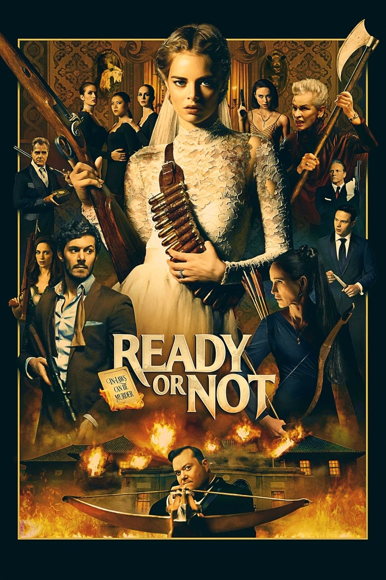 Theatrical poster for Ready Or Not
