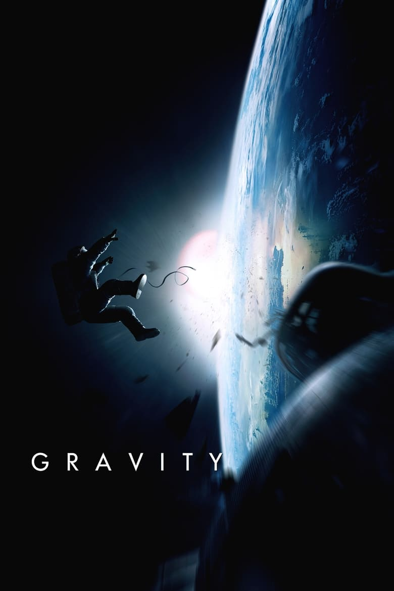 Theatrical poster for Gravity