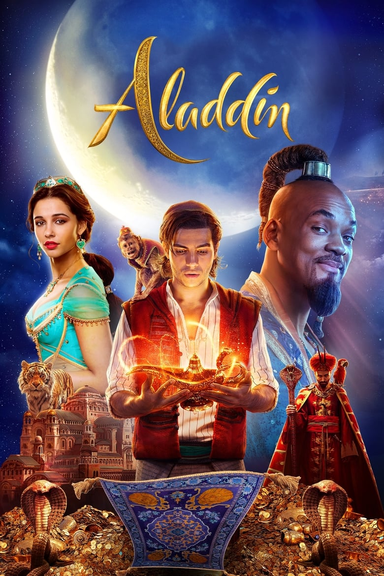 Theatrical poster for Aladdin