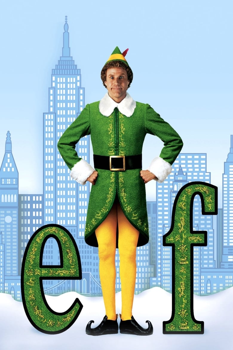 Theatrical poster for Sold Out: Elf: Holidays at the Byrd