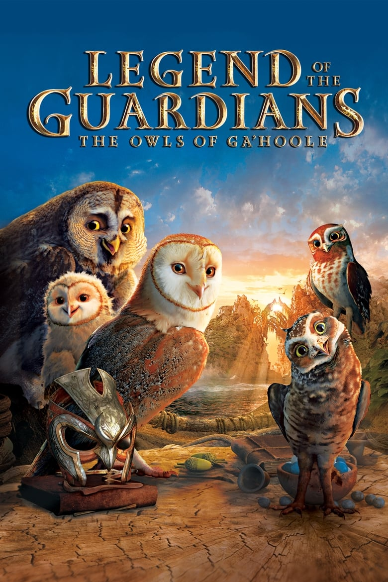 Theatrical poster for Legend of the Guardians