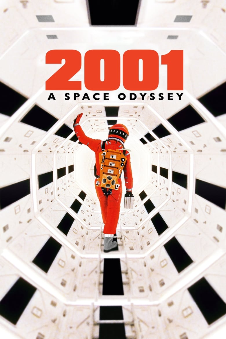 Theatrical poster for 2001: A Space Odyssey