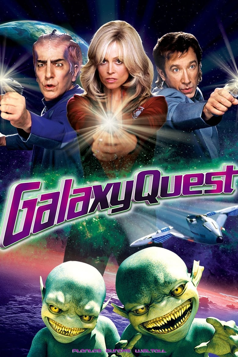 Theatrical poster for Galaxy Quest