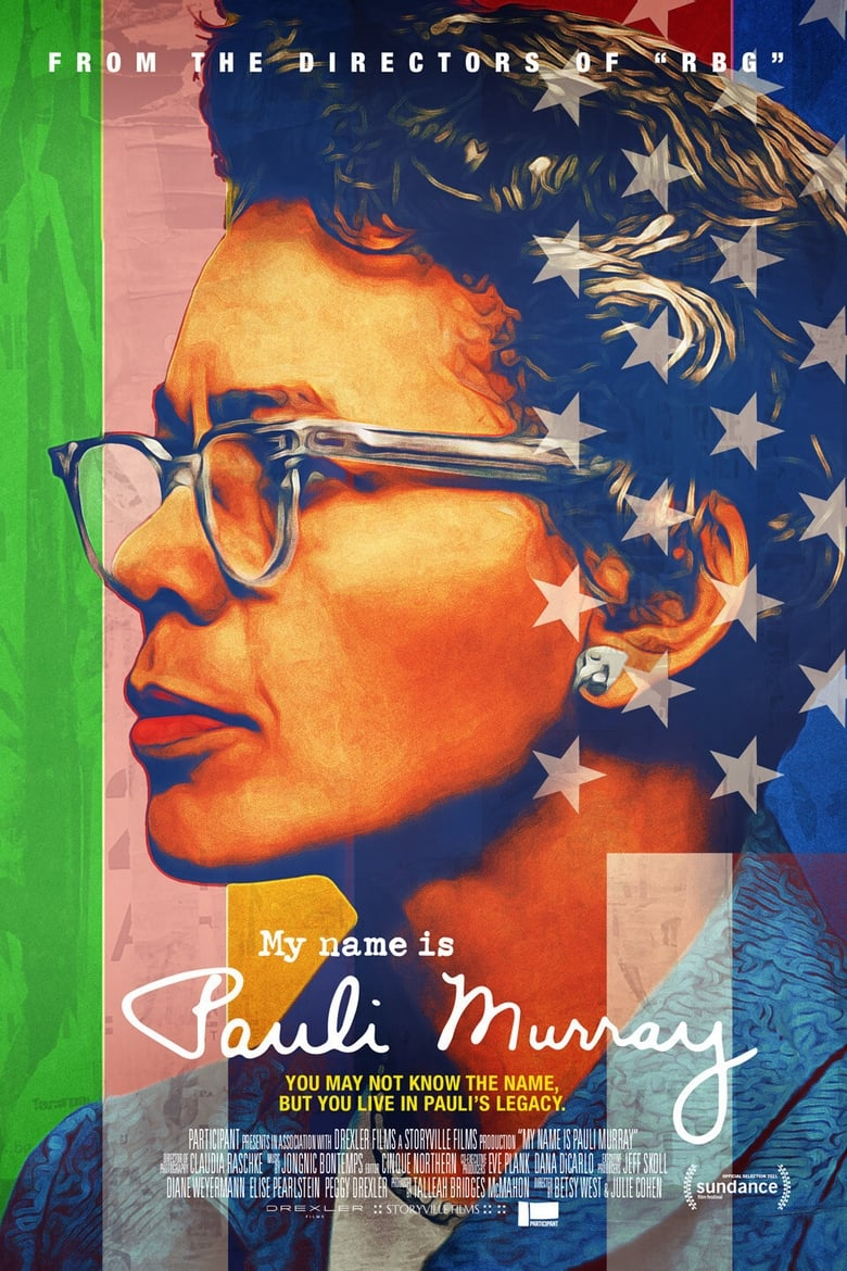 Theatrical poster for My Name is Pauli Murray