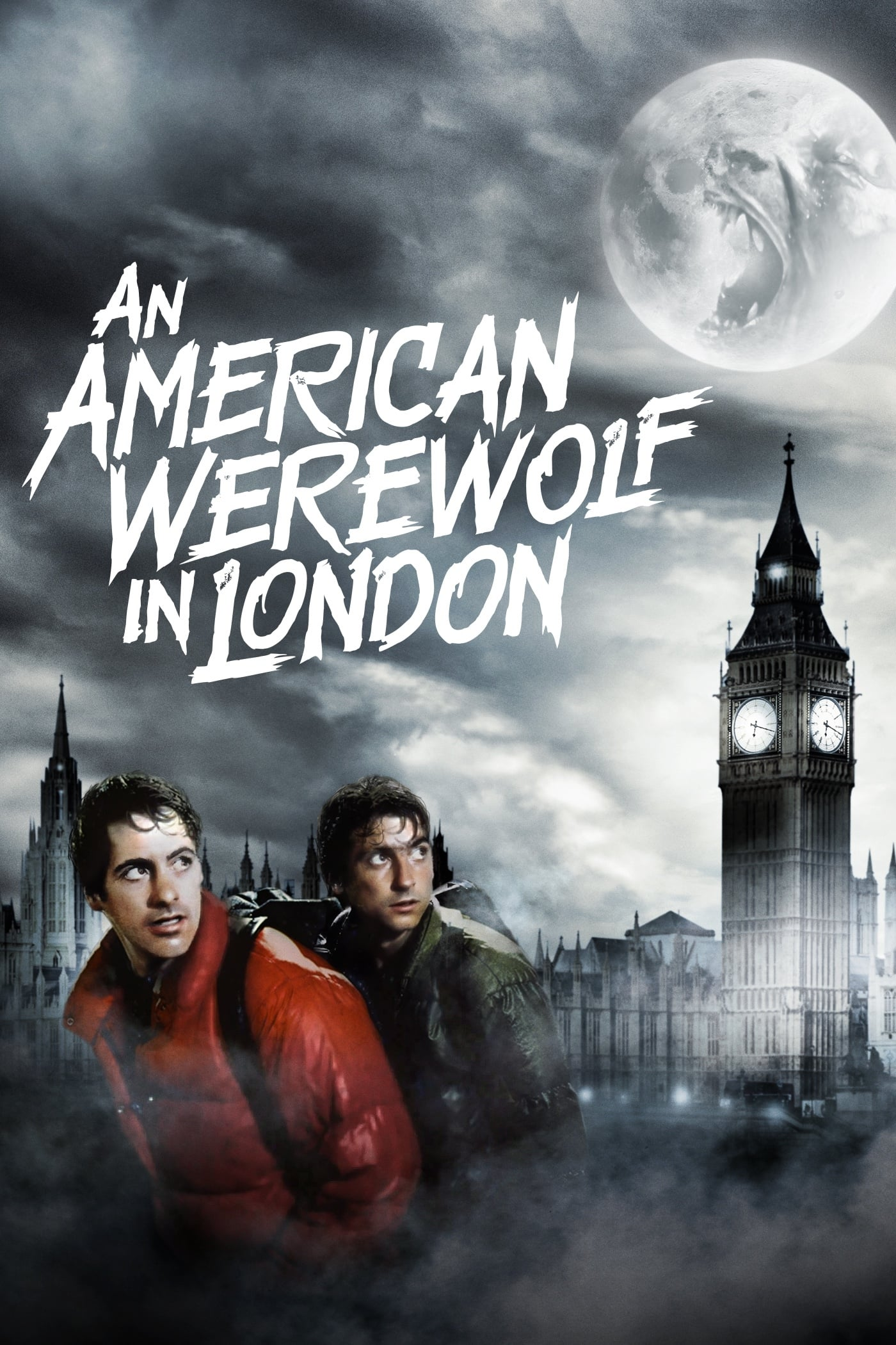 Theatrical poster for An American Werewolf in London (1981)