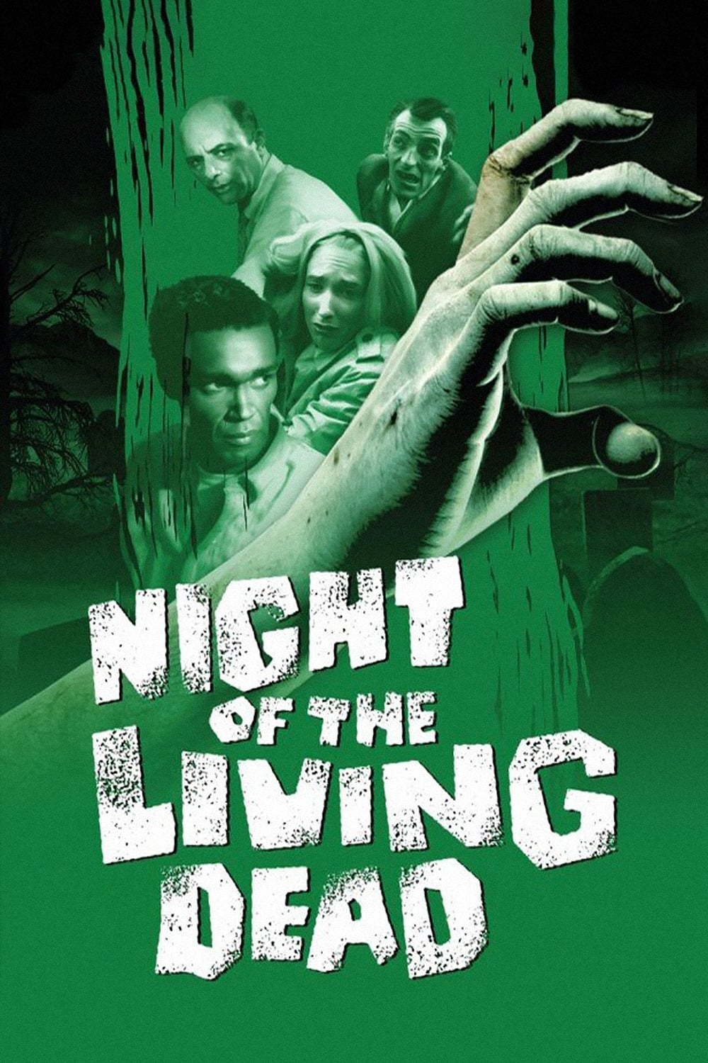 Theatrical poster for Night of the Living Dead (1968)