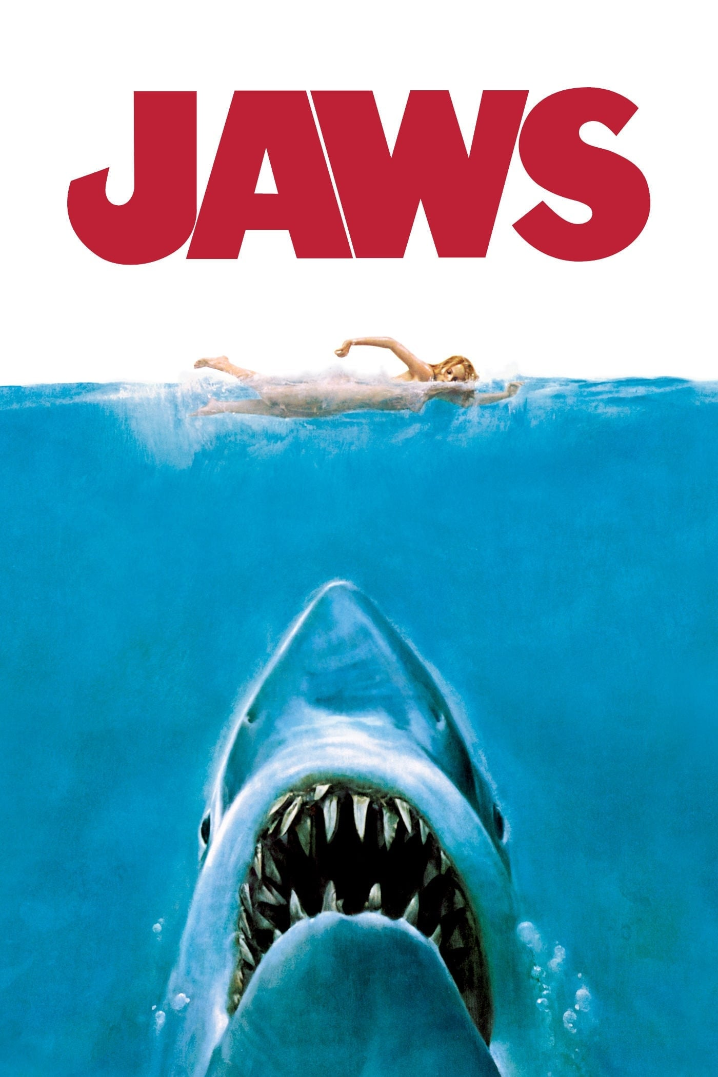 Theatrical poster for Jaws