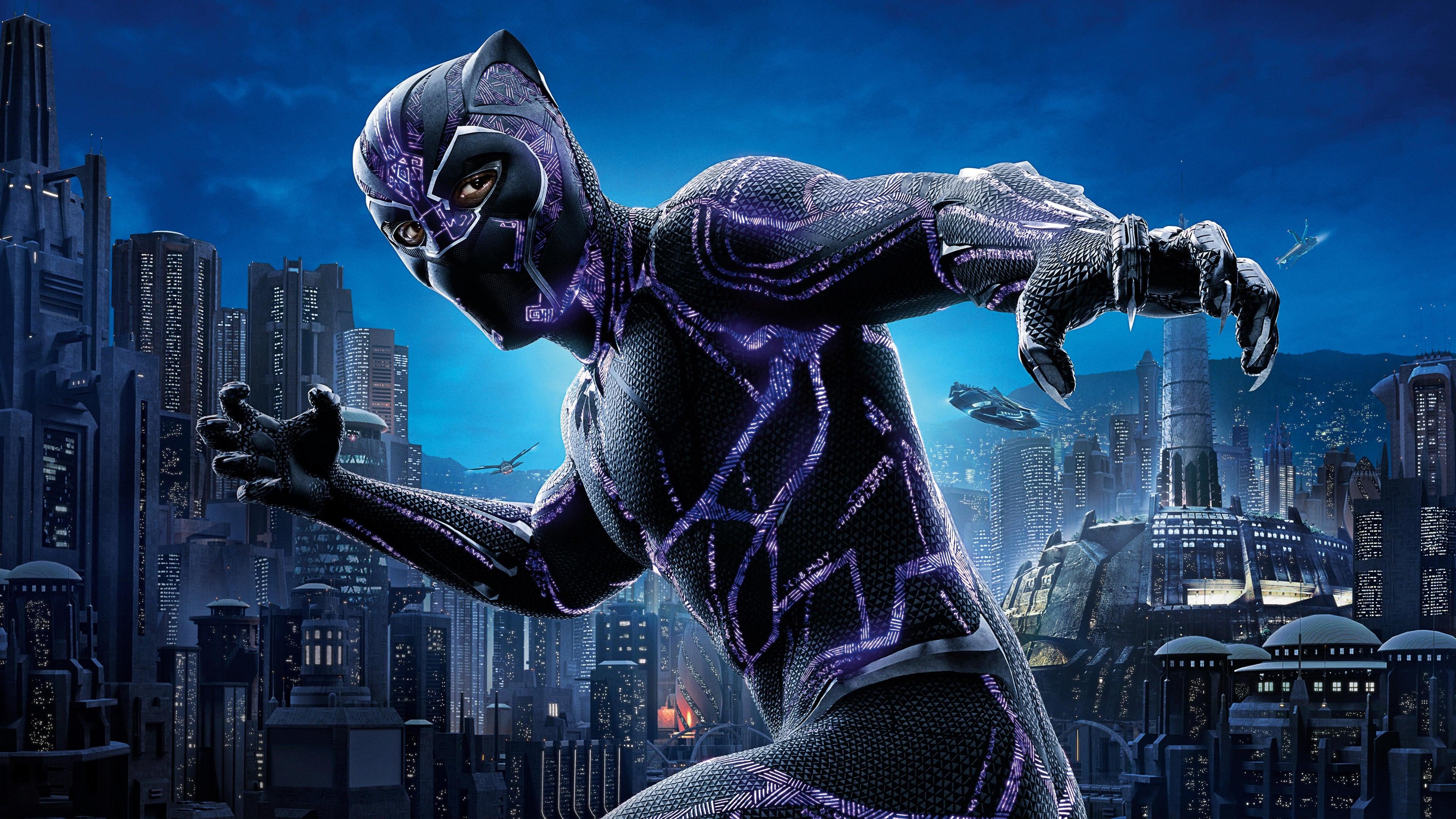 Tonton Black Panther (2018) ~ Movie hunter