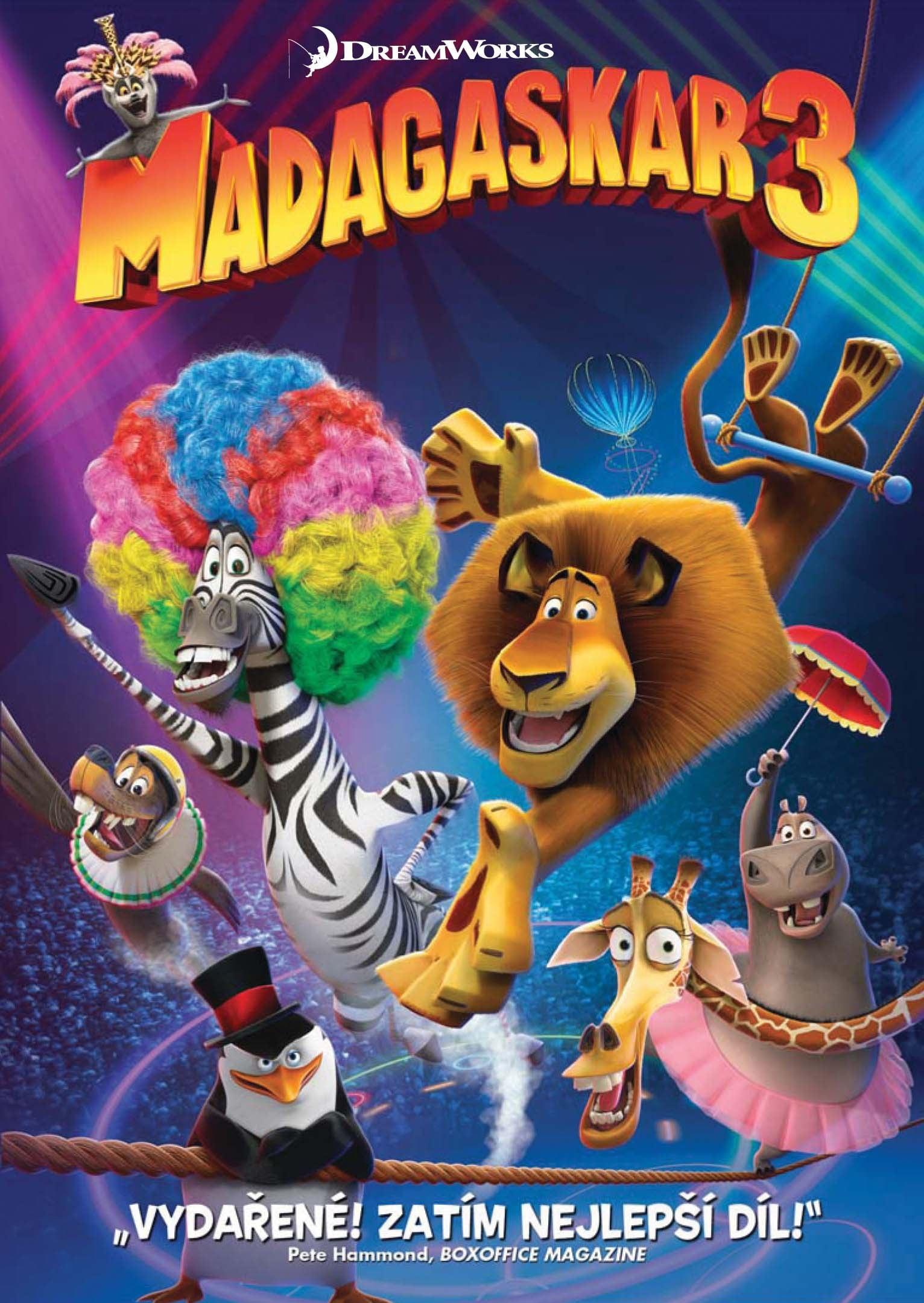 Madagaskar 3: Najhladanejsi v Europe