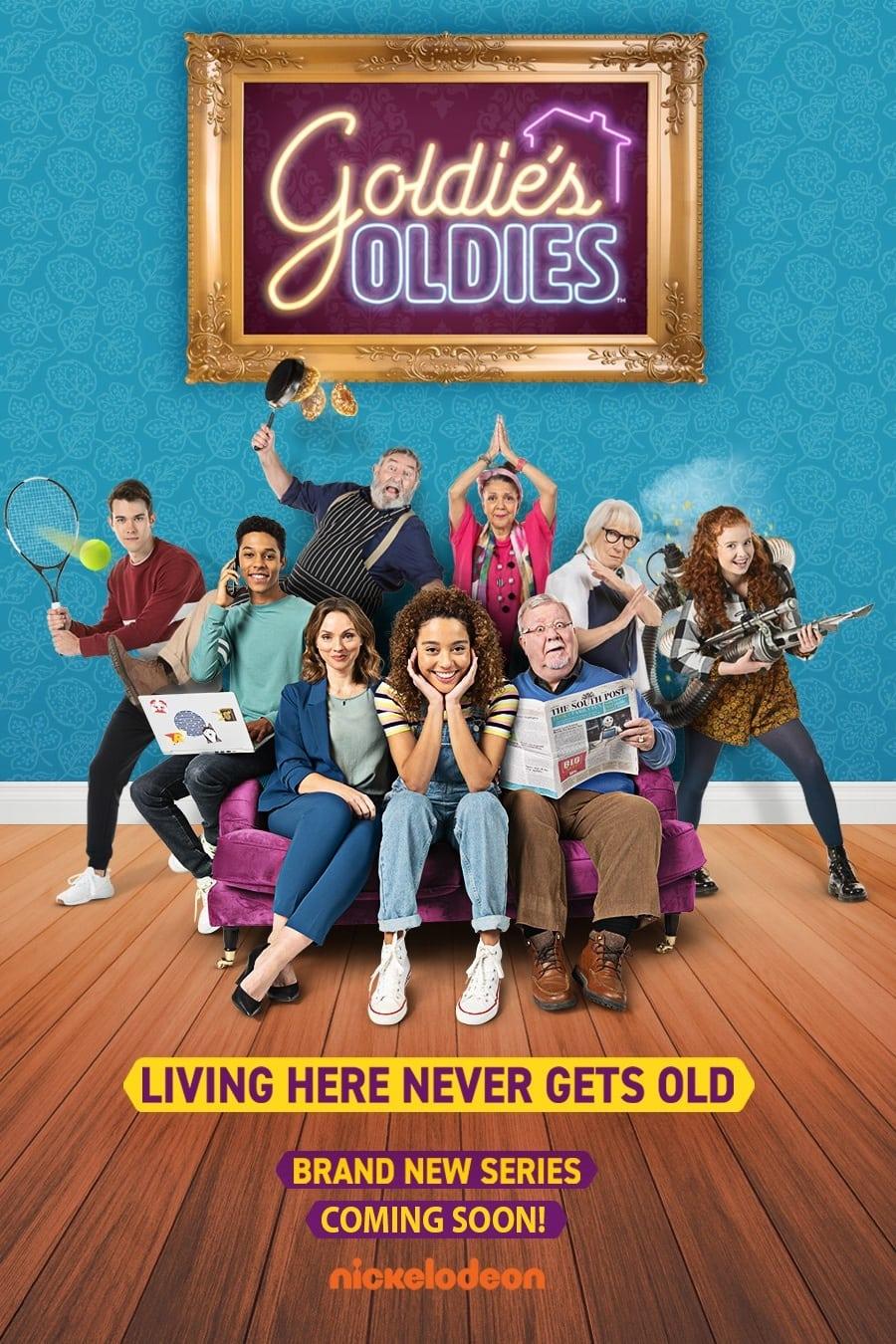 Goldie, viviendo entre abuelos