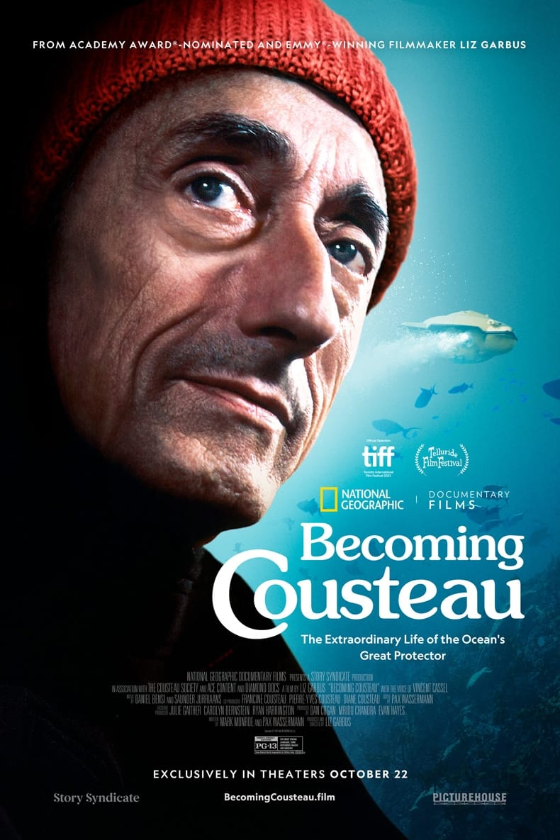 Becoming Cousteau poster