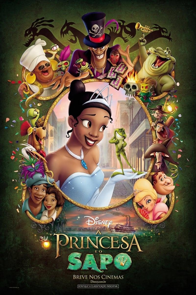 A Princesa e o Sapo Dublado