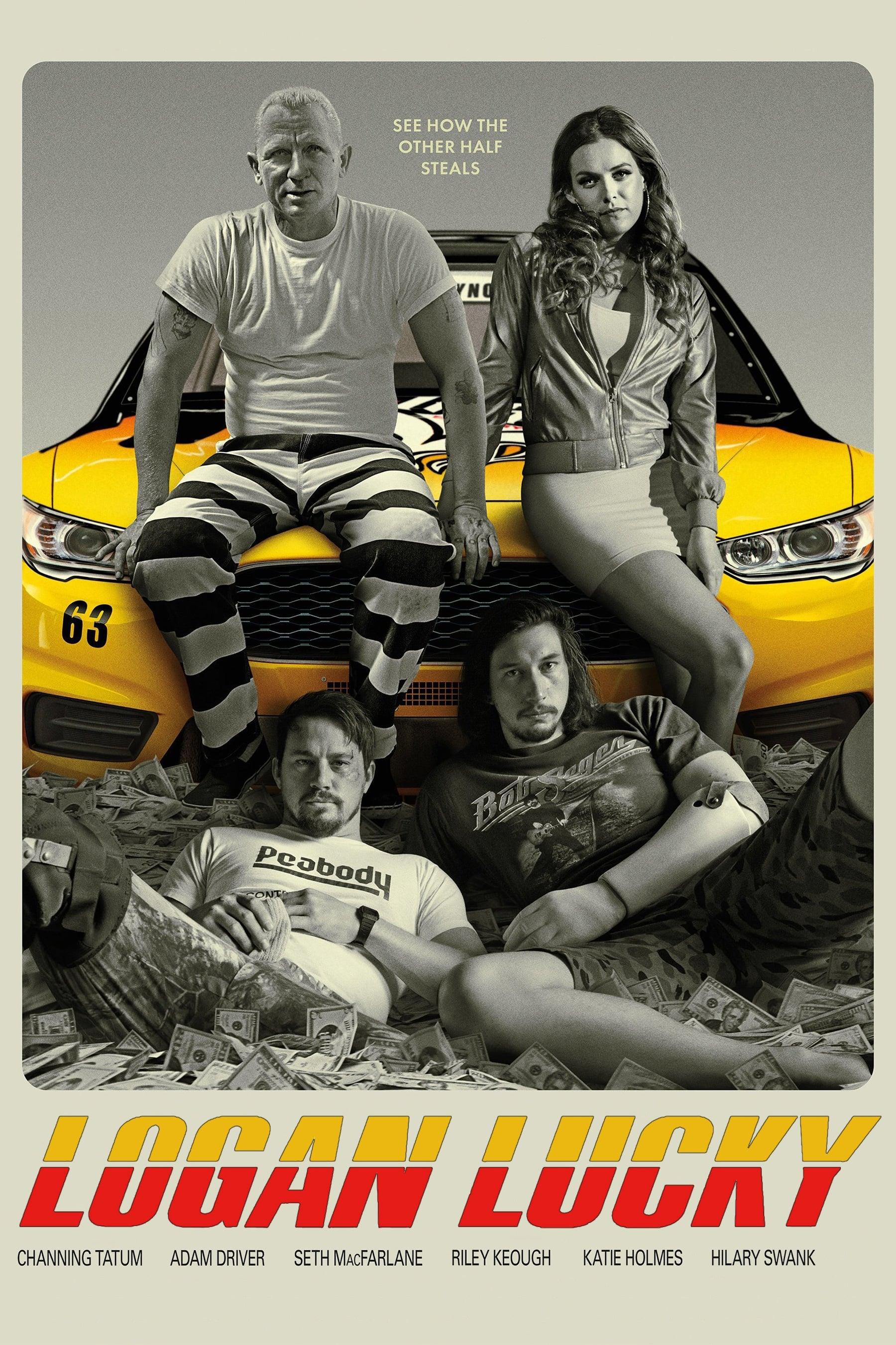 Assistir Logan Lucky - Roubo em Família Dublado Online Dublado 1080p