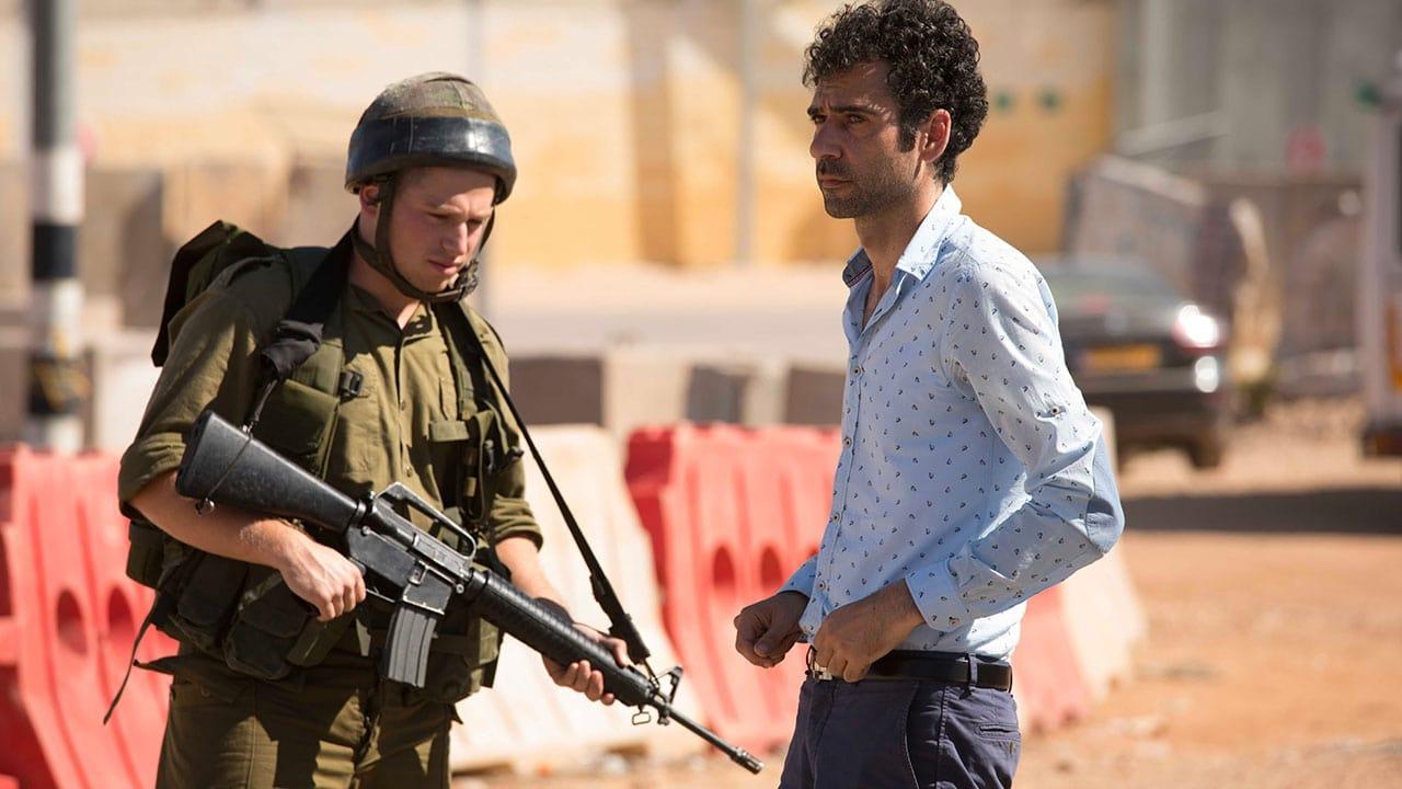 Bakgrund för Tel Aviv on Fire
